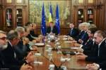 Participarea Preşedintelui CCIR, dl. Mihai Daraban la întâlnirea dintre Preşedintele României, dl. Klaus Iohannis, şi reprezentanţi ai mediului de afaceri