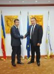 Vizita de lucru a ES Ambasadorul Turkmenistanului în România, dl. Shohrat Jumayev, la Camera de Comerţ şi Industrie a României