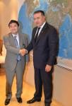 Întrevedere între Preşedintele CCIR, dl. Mihai Daraban şi ES Ambasadorul Japoniei în România, domnul Kisaburo Ishii, la Camera de Comerţ şi Industrie a României