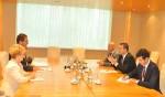 Vizita la CCIR a domnului Michael B. Christides, noul Secretar General al Secretariatului Internaţional Permanent al Organizaţiei de Cooperare Economică la Marea Neagră - PERMIS