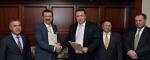 Semnarea acordului de înfiinţare a Comitetului de Lucru între Camera de Comerţ şi Industrie a României (CCIR) şi Uniunea Camerelor și a Burselor de Mărfuri din Turcia (TOBB) - 18 noiembrie 2014