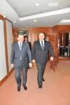 Primirea E. S. domnul Teofil Bauer, Ambasadorul Ucrainei în România, de către Preşedintele CCIR, domnul Mihai Daraban - 4 decembrie 2014