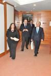 Primirea E.S. domnul Victor R. Carazo, Ambasadorul Venezuelei în România, de către Preşedintele CCIR, domnul Mihai Daraban - 4 decembrie 2014
