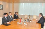 Întâlnire de lucru între Ambasadorul Republicii Populare Chineze şi Preşedintele CCIR - 19 martie 2015