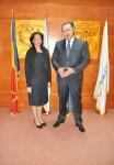 Vizita de lucru a E.S. Ambasadorul Republicii Cuba în România, dna Nieves Ileana Hernandez Portales, la Camera de Comerţ şi Industrie a României  - 2 iunie 2015