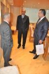 Vizita E.S. Ambasadorul Republicii Arabe Egipt în România, dl. Mohamed Alaaeldin Aly Shawky Elhadidi la Camera de Comerţ şi Industrie a României - 1 aprilie 2015