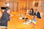 ES Ambasadorul Republicii Elene, dl domnul Grigorios Vassiloconstandakis în vizită de lucru la Camera de Comerţ şi Industrie a României - 2 iunie 2015