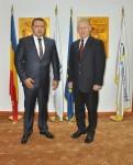 ES Ambasadorul Lituaniei în România, domnul Arvydas Pocius, în vizită de lucru la Camera de Comerţ şi Industrie a României - 7 septembrie 2015