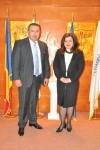 Vizita ES Ambasadorul Bosniei şi Herţegovina la Bucureşti, dna. Nina Sajić la Camera de Comerţ şi Industrie a României - 3 martie 2015