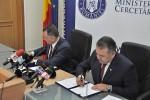 Protocol de colaborare în domeniul formării şi certificării profesionale între Ministerul Educaţiei şi Cercetării Ştiinţifice şi Camera de Comerţ şi Industrie a României - 24 iunie 2015