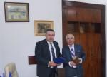 Vizita de lucru a Preşedintelui CCIR, dl. Mihai Daraban la CCI Brăila - 28 noiembrie 2014