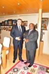Primire E.S. domnul Okechukwu Fidelis Muoh de către Preşedintele CCIR, domnul Mihai Daraban – 23 iulie 2014