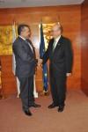 Primirea E.S. domnul Dan Ben-Eliezer, Ambasador Extraordinar şi Plenipotenţiar al Israelului în România de către Preşedintele CCIR, domnul Mihai Daraban – 31 iulie 2014