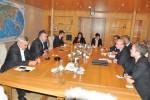 Primirea delegaţiei Comisiei pentru Finanţe Publice din Parlamentul Norvegian de către Preşedintele CCIR, domnul Mihai Daraban – 4 septembrie 2014