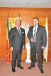 Primirea E.S. domnul Diego Brasioli, Ambasadorul Republicii Italia în România, de către Preşedintele CCIR, domnul Mihai Daraban - 27 octombrie 2014