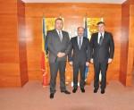 Preşedintele CCIR, domnul Mihai Daraban şi Preşedintele CCI Moldova, domnul Valeriu Lazăr au semnat Acordul de Colaborare dintre CCIR şi CCIM – 30 octombrie 2014