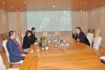 Primirea E.S. doamna Kalliopi Avraam, Ambasadorul Republicii Cipru în România, de către Preşedintele CCIR, domnul Mihai Daraban – 13 octombrie 2014