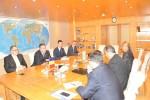 Primirea Delegaţiei Comisiei Pentru Politica Externa din Cadrul Senatului Republicii Uzbekistan de către Preşedintele CCIR, domnul Mihai Daraban – 14 octombrie 2014