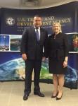 Delegaţia română condusă de Preşedintele Camerei de Comerţ şi Industrie a României a continuat seria întâlnirilor din cadrul misiunii în Statele Unite ale Americii
