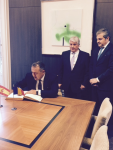 Preşedintele Camerei de Comerţ şi Industrie a României conduce delegaţia CCIR în Madrid - 15 iunie 2015