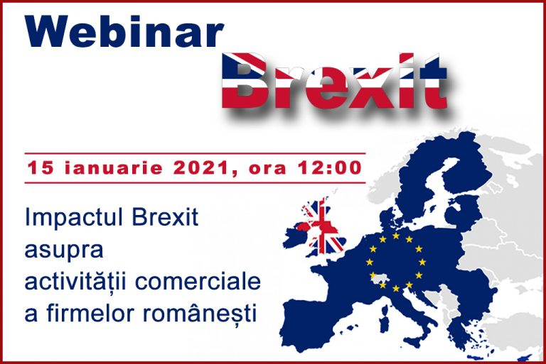 comunicat webinar Brexit 15 ianuarie